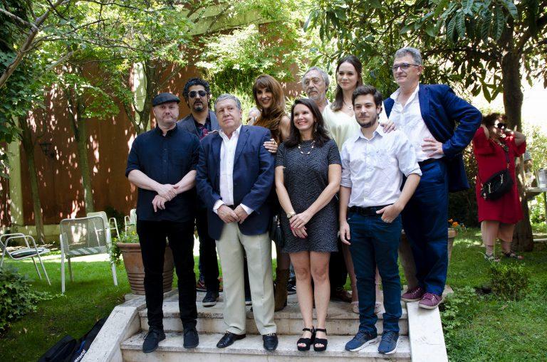 Presentación de Parque Lezama en la Embajada Argentina en Madrid