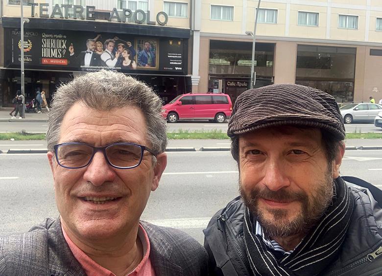 Enrique Salaberria y Manel Portomeñe
