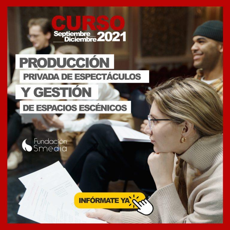 Curso de producción de eventos y gestión de espacios escénicos