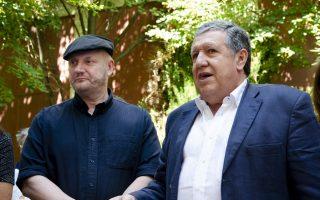 Juan José Campanella y Ramón Puerta
